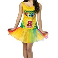 Crayon Box Woman Dress | Oya Costumes