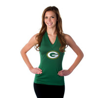"Green Bay Packers Women's Official NFL ""Blown Coverage"" Halter"
