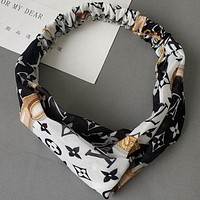 Louis Vuitton LV  Women Fashion Casual Hair Card Wide Hair Bands