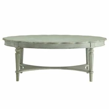 ACME Fordon Coffee Table in Antique Green
