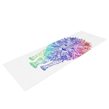 "Monika Strigel ""Rainbow Lion"" Yoga Mat"