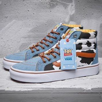 CREYON Best Deal Online VANS Toy Story Era SK8-Hi Men Shoes Women Sneaker