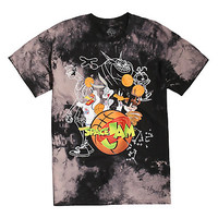Space Jam Looney Tunes Tune Squad Tie Dye T-Shirt