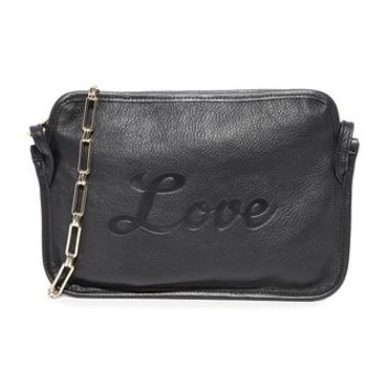 Amy Love Leather Cross Body Bag