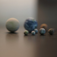 Tiny 12 object to scale set