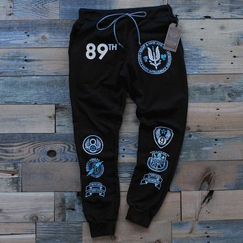89th Intel Squadron Sweat Pants Black