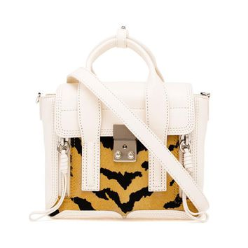 3.1 PHILLIP LIM | Tiger Print Leather Mini Pashli Satchel | brownsfashion.com | The Finest Edit of Luxury Fashion | Clothes, Shoes, Bags and Accessories for Men & Women