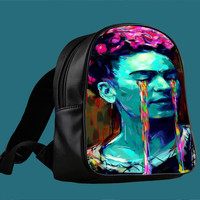 Frida Kahlo for Backpack / Custom Bag / School Bag / Children Bag / Custom School Bag ***