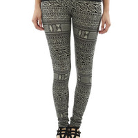 Mayan Tribal Print Legging | Shop Tribal at Wet Seal