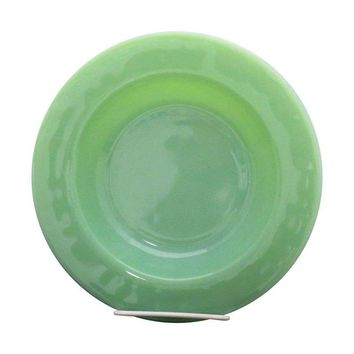 Pre-owned 1940s Fire King Jadeite Restaurantware Soup Bowl