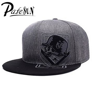 PATESUN Top Selling Gothic Metal Mulisha Baseball Cap Women Hat