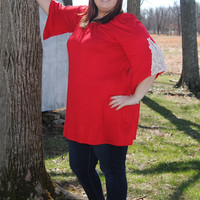 Paint the Town Red Tunic