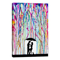 "iCanvas ""Two Step"" by Marc Allante Graphic Art on Wrapped Canvas"