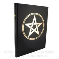 Blank Pentacle Book of Shadows | 8x11"