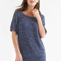 Boatneck raglan tunic | Gap