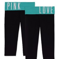 Bling Yoga Crop Legging
