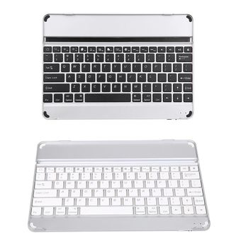 Aluminum Wireless Bluetooth 3.0 keyboard case With Versatile Stand For iPad Air 2 AIR 5 6 iPad PRO 9.7inch