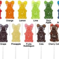 Giant Gummy Bear On A Stick Cherry:Amazon:Grocery & Gourmet Food