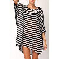 Stripes for Days ~ Swimsuit Cover Up