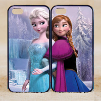 iPhone 5s Case iPhone 5c case iPhone 5 case, iPhone 4 Cases iPhone 4s Cases,Samsung Galaxy S3,S4,elsa and anna frozen,Phone Case,Couple Csae