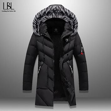 Hooded Thick Warm Windproof Winter Parka
