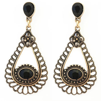 Hidden Treasure Chandelier Earrings