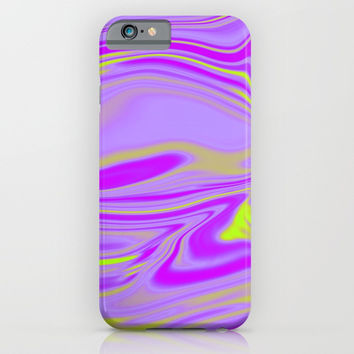 Abstract Fluid 6 iPhone & iPod Case by Arrowhead Art