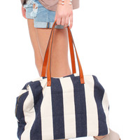 Set Sail Striped Tote