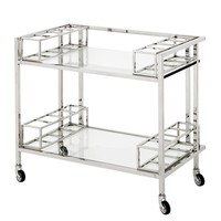 Stainless Steel Trolley | Eichholtz Le Pomerol
