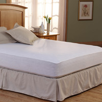 Spring Air Bed Armor Waterproof Full-Size Mattress Pads
