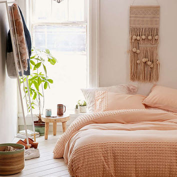 Plum & Bow Tufted Dot Duvet Cover   Urban Outfitters