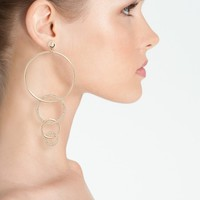 Ettika Dangle Hoop Drop Earrings | Nordstrom