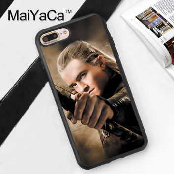 Lord of The Rings Printed Mobile Phone Case Cover For iPhone 7 7 Plus 6 6S Plus 5 5S 5C SE 4 4S Soft TPU Skin Back Shell Cover