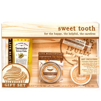 Sweet Tooth Gift Set -  Lip Care Kit