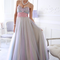 Sparkletini 3842 Jeweled Tulle Ball Gown - Prom Dress