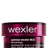 Fragrance Free Intensive 3-in-1 Eye Cream: Lifting, Firming, Anti-Wrinkle Formula   - Patricia Wexler M.D. - Bath & Body Works