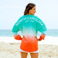 North Carolina EST. 1789 Ombre Spirit Football Jersey®