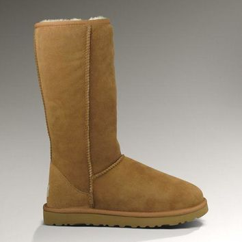 ESBON UGG 5815 Classic Tall Women Men Fashion Casual Wool Winter Snow Boots Chestnut