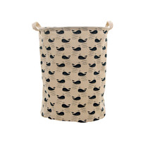 Cute Whales Foldable Laundry Basket Storage Bag Practical Hamper Bag