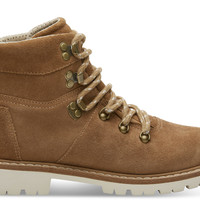 WATERPROOF TOFFEE SUEDE WOMEN'S SUMMIT BOOTS
