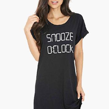 Snooze Sleep T-Shirt