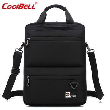Cool Backpack school CoolBell 14.6 inch laptop notebook bag messenger backpack hand bag with Luggage belt travel Bags Daypacks Mochila Masculina Bag AT_52_3