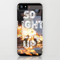 Fall Out Boy iPhone Case by Jiemin Lin