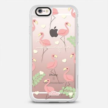 Flamingo Love By Chic Kawaii iPhone 6s case by Chic Kawaii | Casetify