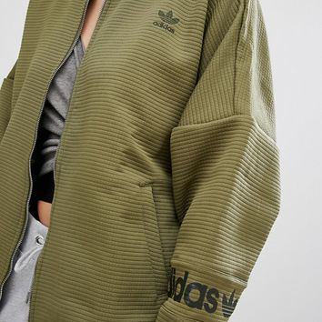 adidas Originals Waffle Bomber Jacket at asos.com