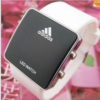 Stylish Couple Girl Boy Silicone Digital Watch [11912226067]