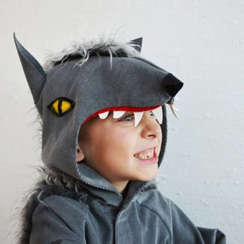 Wolf, werewolf, dog, kids costume, halloween