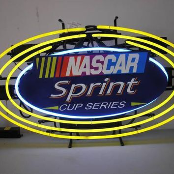 Nascar Sprint Cup Series Neon Sign Real Neon Light