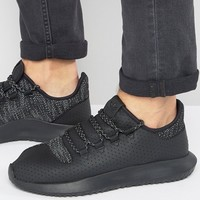 adidas Originals Tubular Shadow Sneakers In Black BB8823 at asos.com