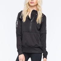 Fox Race Womens Active Pullover Hoodie Black  In Sizes